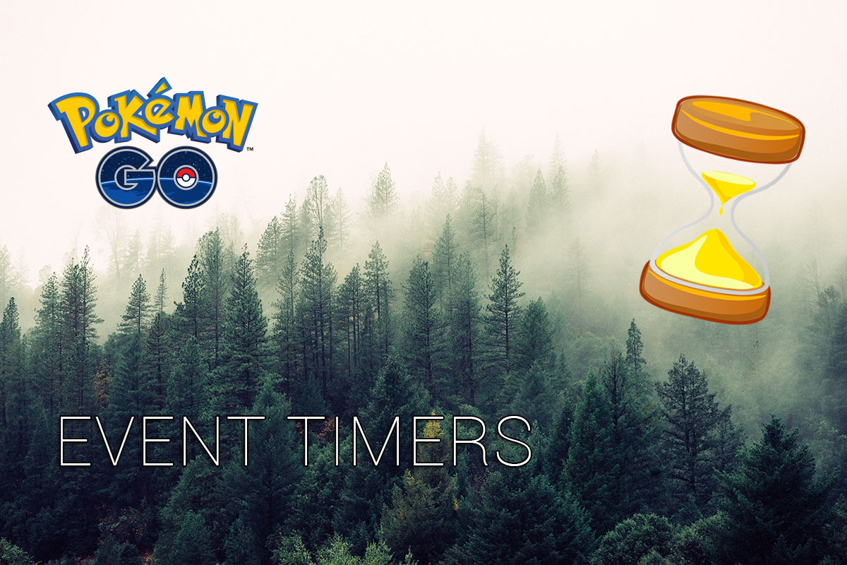 Pokémon GO - Events and Countdown timers